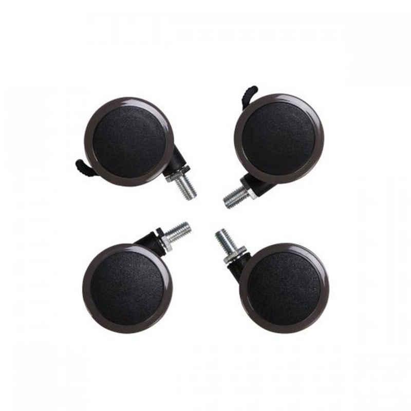 FLEXISPOT Möbelrolle »W1«, Räder für Höhenverstellbare Schreibtische