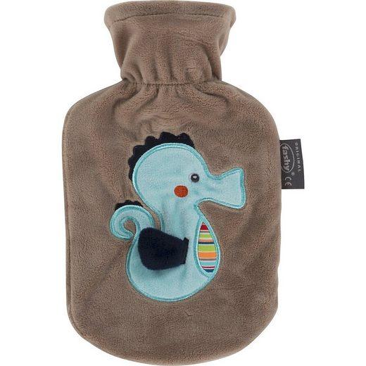 Fashy Wärmflasche »Wärmflasche mit Bezug Pferdefreunde«