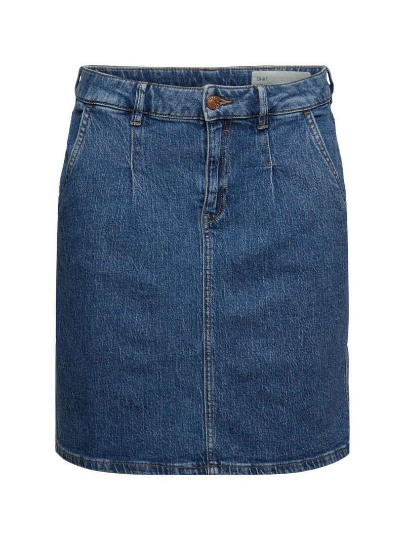 Esprit Jeansrock »Jeansrock aus Organic Cotton«