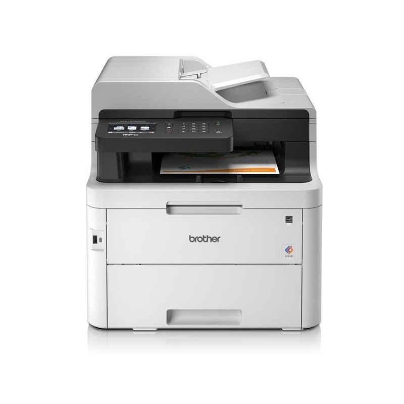 Brother Brother MFC-L3750CDW Farblaserdrucker, (WLAN, automatischer Duplexdruck)