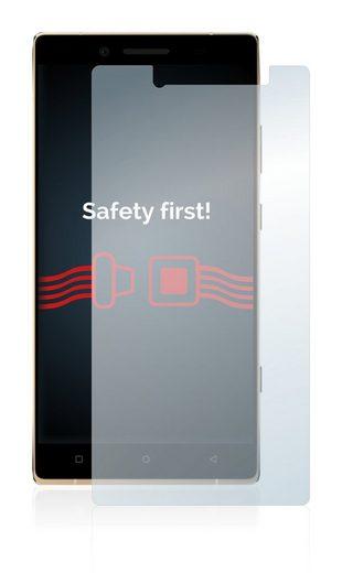 Savvies Schutzfolie »Panzerglas für BLU Pure XL 2015«, Schutzglas Echtglas 9H klar