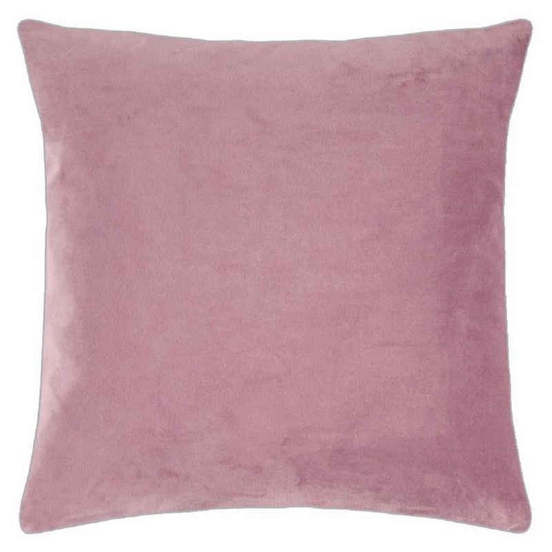 Kissenhülle »pad Kissenhülle - Elegance - in zwei Größen 40 x 40 cm oder 50 x 50 cm - Reißverschluss - in vielen verschiedenen Farben«, PAD