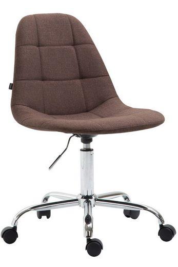 CLP Schreibtischstuhl »Reims Stoff«, höhenverstellbar und 360 Gradd drehbar
