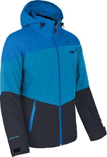 Bergson Skijacke »RUKA« Herren Skijacke, wattiert, 20000 mm Wassersäule, Normalgrößen, Methyl blau