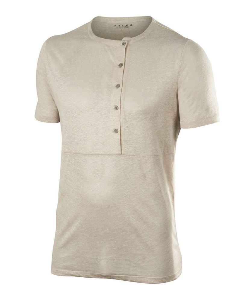 FALKE T-Shirt (1-tlg) aus 100% Leinen