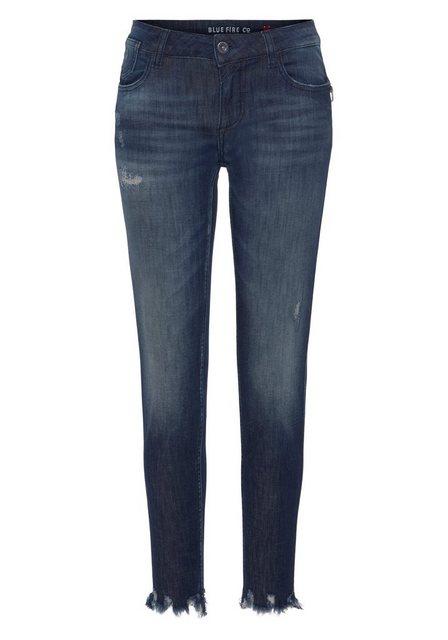 Hosen - BLUE FIRE Skinny fit Jeans »CHLOE« mit leicht ausgefranster Kante am Beinabschluss ›  - Onlineshop OTTO