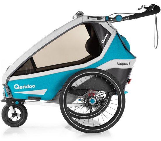 Qeridoo Fahrradkinderanhänger »KIDGOO 1 SPORT«