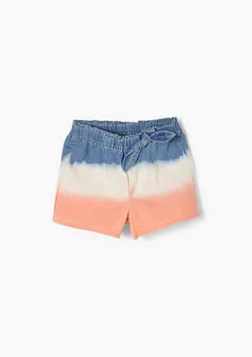 s.Oliver Jeansshorts »Jeans-Shorts mit Zierschleife« Schleife
