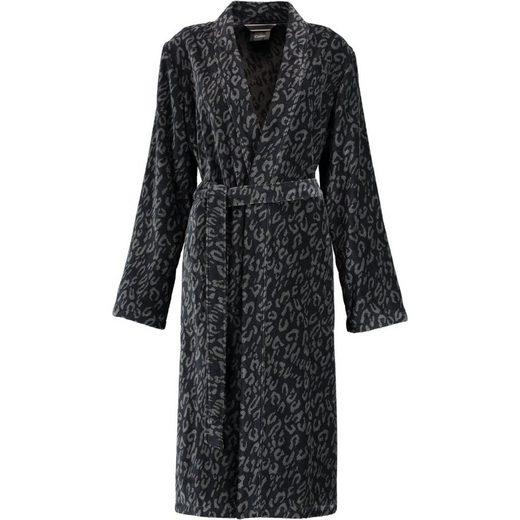 Damenbademantel »Animal 2111 Kimono Velours«, Cawö