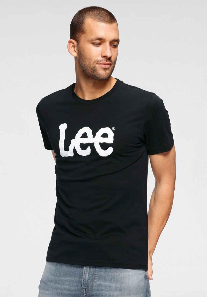 Lee® T-Shirt »Wobbly LOGO TEE«