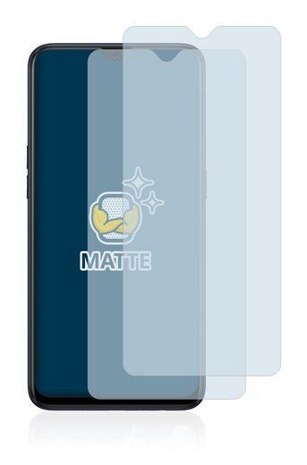 BROTECT Schutzfolie »für Oppo A12«, (2 Stück), Folie Schutzfolie matt entspiegelt