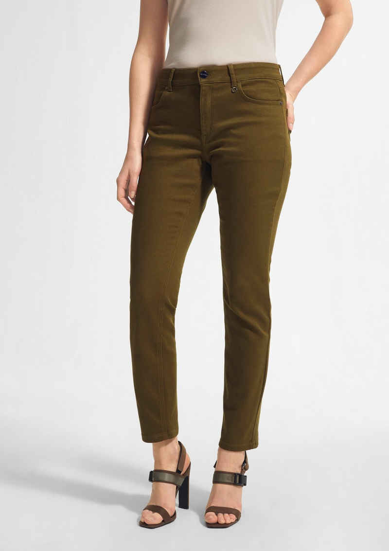Comma 7/8-Jeans »Skinny Fit: Slim leg-Jeans« Garment Dye