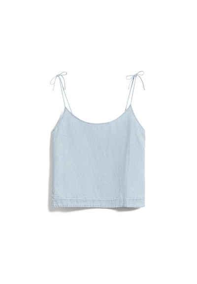 Armedangels Hemdbluse »NITYAA Damen Bluse aus Bio-Baumwoll-Leinen Mix« (1-tlg)