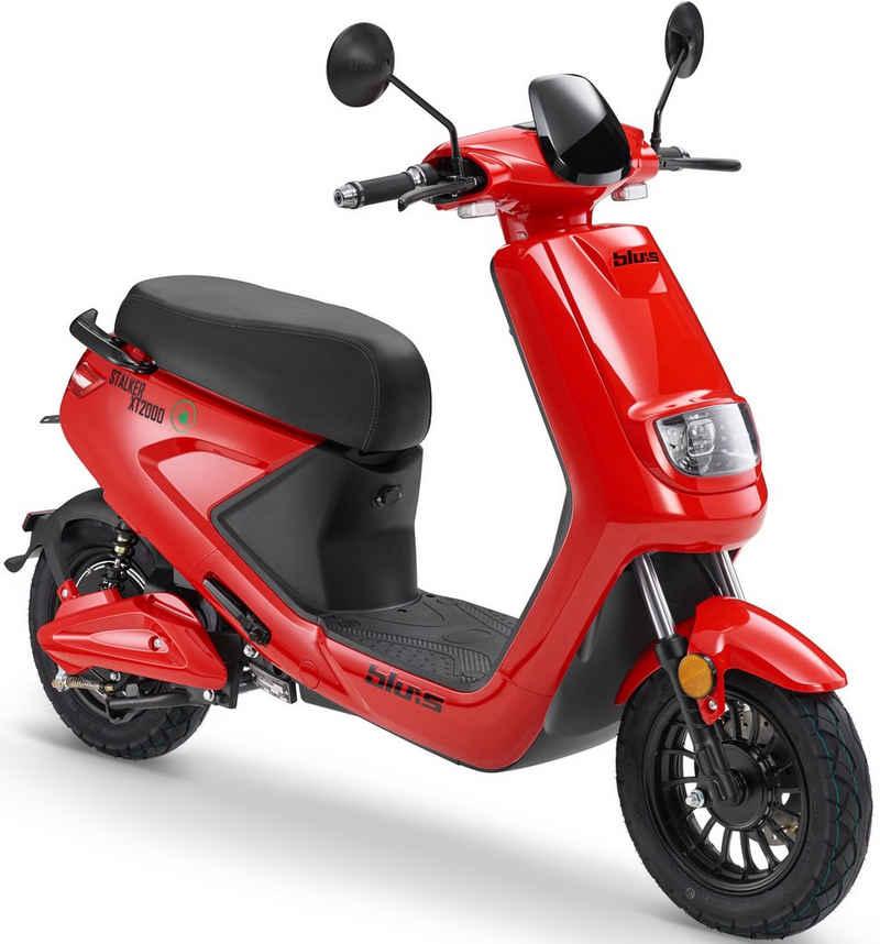 Blu:s E-Motorroller »XT2000«, 2000 W, 45 km/h, Euro 4
