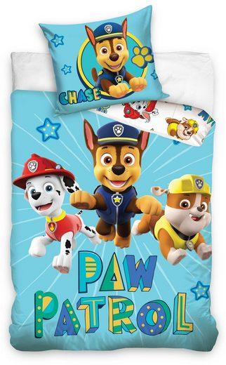 Babybettwäsche »Chase and Friends«, PAW PATROL, Kinder und Babybetten geeignet