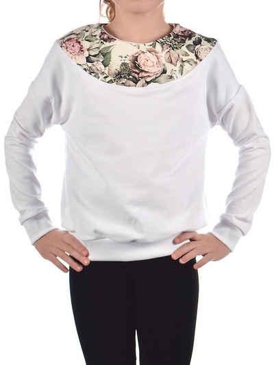 KMISSO Sweatshirt »Mädchen Pullover mit Motiv« (1-tlg)