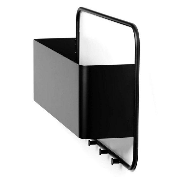 Garderobenleisten und Haken - mokebo Garderobenleiste »Der Hochmütige«, Im industrial Stil mit integrierter Ablage  - Onlineshop OTTO