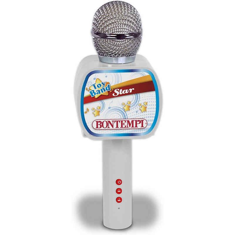 Bontempi Mikrofon »Star Drahtloses Mikrofon mit Lautsprecher«