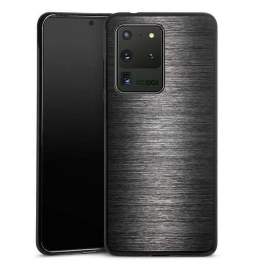 DeinDesign Handyhülle »Metal Look - Anthrazit« Samsung Galaxy S20 Ultra, Hülle Metallic Look Metall Thermomixmotive
