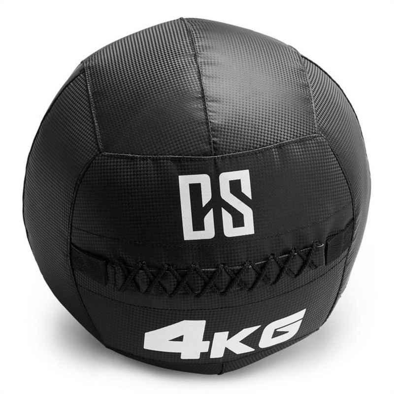 Capital Sports Medizinball »Bravor Wall Ball Medizinball PVC doppelte Nähte 4kg schwarz«