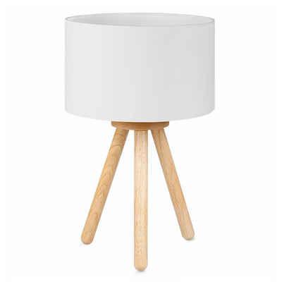 Tomons LED Nachttischlampe »aus Holz minimalistischer Stil geeignet für Schlafzimmer mit warmer, gemütlicher Atmosphäre, mit 4 W LED Birne«
