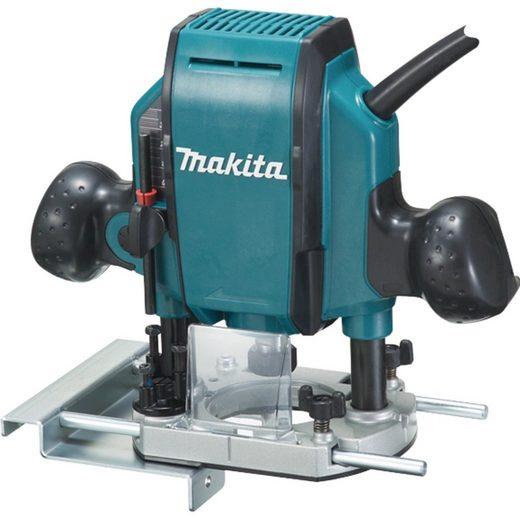 Makita Oberfräse »Oberfräse RP0900J, MAKPAC Gr. 2, 900 Watt«