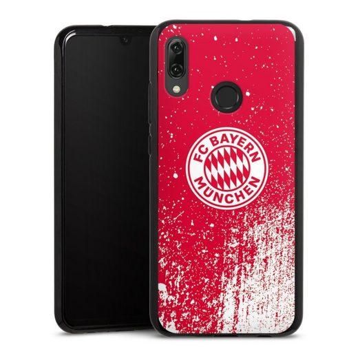 DeinDesign Handyhülle »Splatter Rot - FCB« Huawei Honor 10 Lite, Hülle FC Bayern München Offizielles Lizenzprodukt FCB
