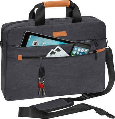 """PEDEA Laptoptasche »""""ELEGANCE"""" Pro 17,3"""" (43,9cm)«, Laptopfach: 42 cm x 30 cm x 5 cm (BxHxT); Tabletfach: 27 cm x 20 cm x 2 cm (BxHxT); Praktische Zubehörfächer"""