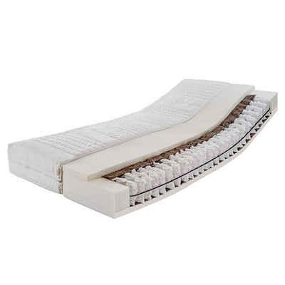 Federkernmatratze »Federkernmatratze Komfort (TFK 1000)«, Ravensberger Matratzen, 600 Federn, (Set), Härtegrad H2 90x200 cm mit TENCEL-Doppeltuch-Bezug