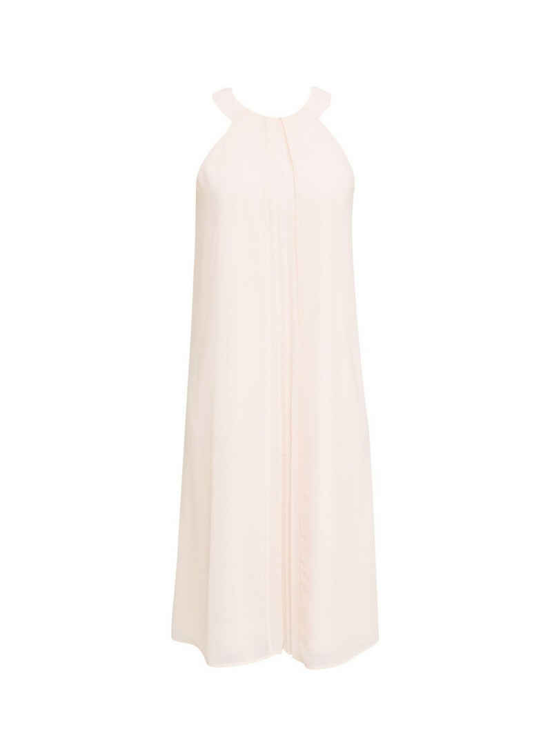 Esprit Collection Midikleid »Recycelt: Crêpe-Kleid mit Gürtel«