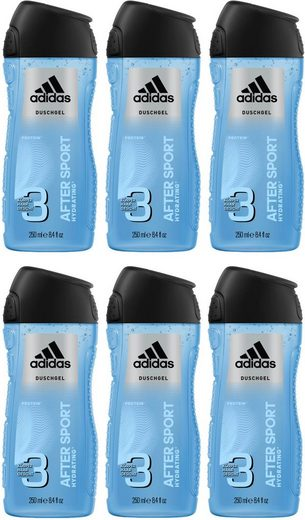 adidas Performance Duschgel »After Sport 3in1«, 6-tlg., für Männer