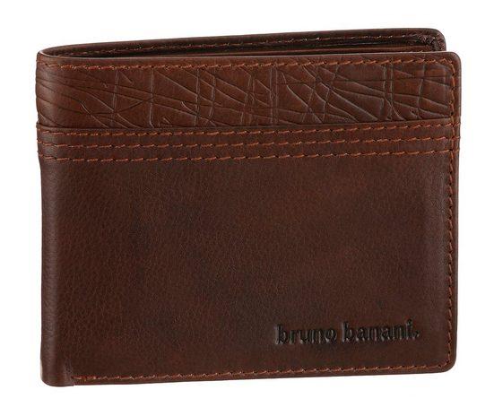 Bruno Banani Geldbörse, aus hochwertigem Leder