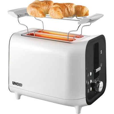Unold Toaster 2-Schlitz- mit Brötchenaufsatz