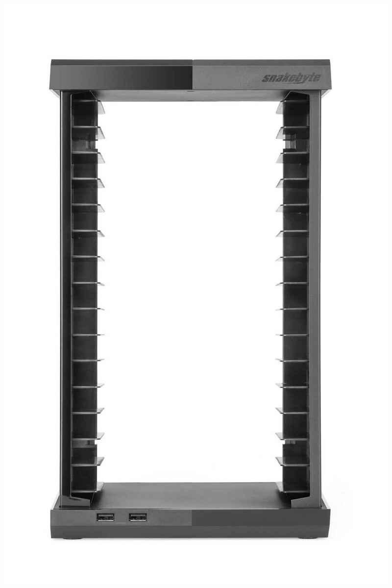 Snakebyte Media-Regal »XBOX ONE CHARGE:TOWER BLACK«, mit USB-Verteiler