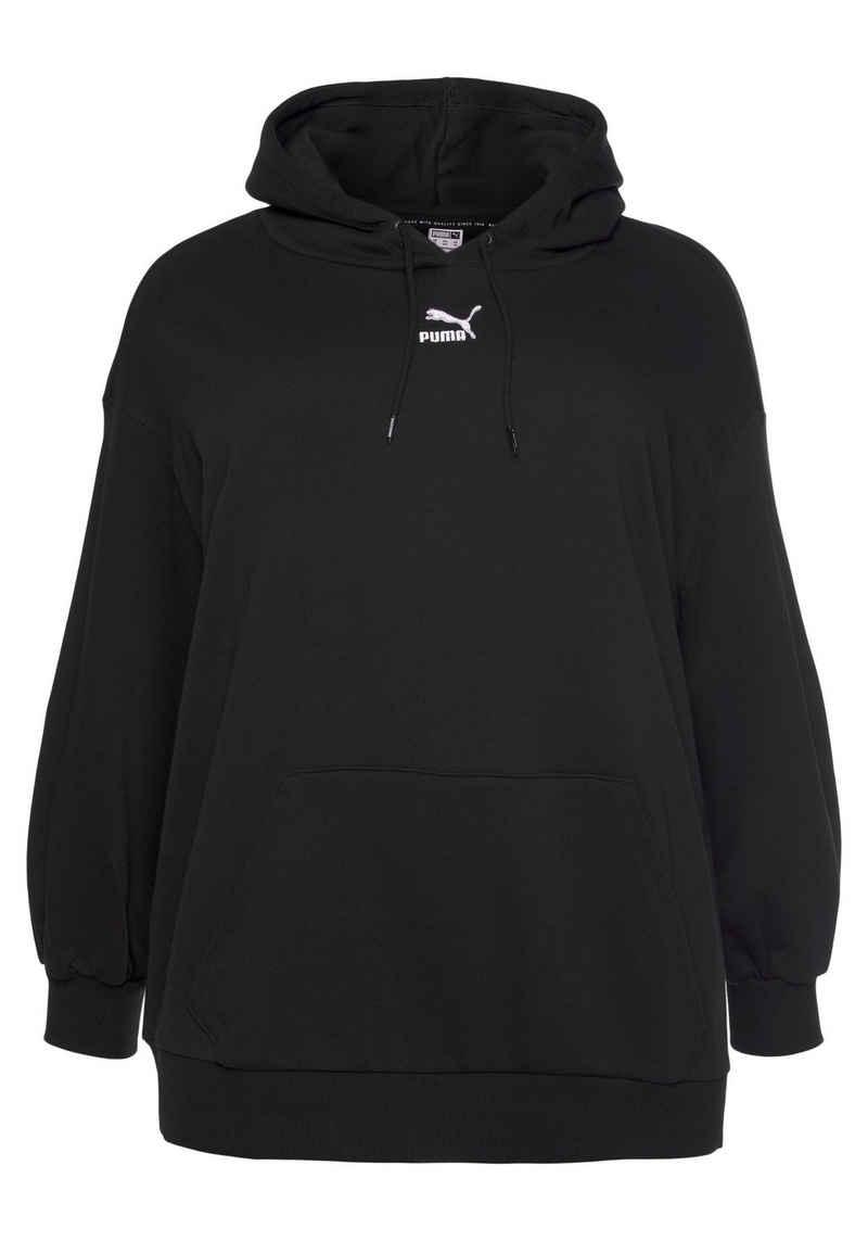 PUMA Kapuzensweatshirt »Classics Oversized Hoodie PLUS«