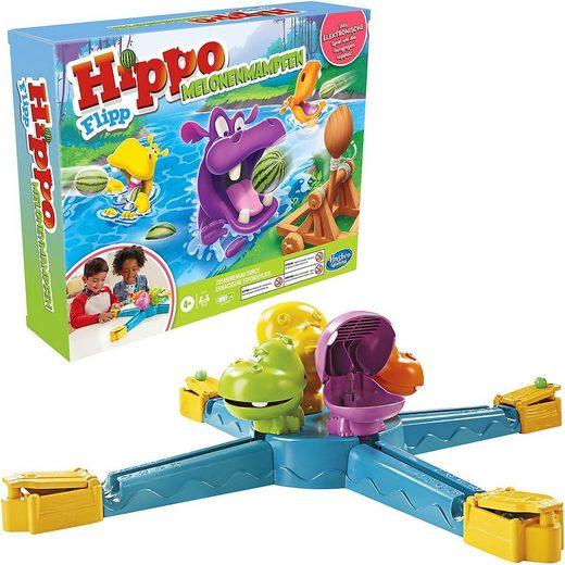 Hasbro Spiel, »Hippo Flipp Melonenmampfen Spiel für Kinder ab 4«