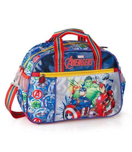 The AVENGERS Sporttasche »Marvel´s The Avengers - Sporttasche, 38x27x17 cm« (Reißverschluss, Jungen), Geringes-Gewicht