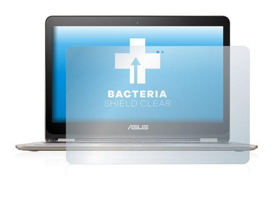 upscreen Schutzfolie »für Asus VivoBook Flip TP301UA«, Folie Schutzfolie klar antibakteriell