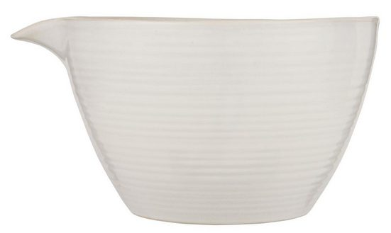 Ib Laursen Schüssel »Rührschüssel Schüssel Schale mit Ausguss Keramik 3 Liter Weiß Ib Laursen 2461-11«