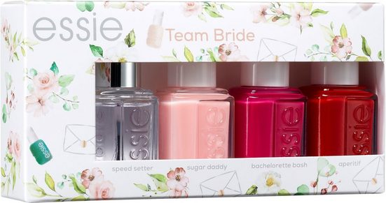 essie Nagellack-Set »Bride Set Team Bride«, 4-tlg.