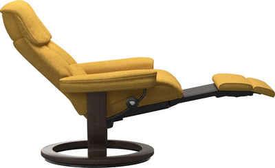 Stressless® Relaxsessel »Ruby«, mit Classic Base und Power™, elektrisch verstellbar, optional 2-motorisch, Größe M & L, Gestell Wenge