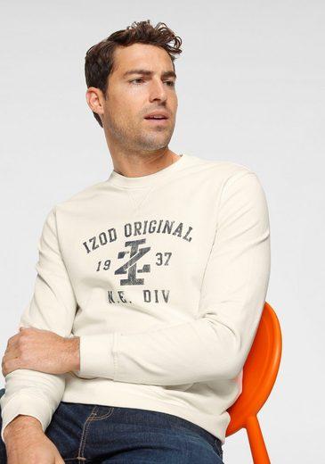 IZOD Sweatshirt mit großem Print