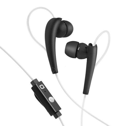 sbs »SBS In-Ear Sport Kopfhörer mit Kabel zum Musikhören und Telefonieren, 3,5mm Klinkenstecker, Anruffunktion - Schwarz« Sport-Kopfhörer