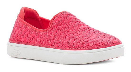 UGG »Caplan Slip-On« Slip-On Sneaker mit leichter Perforierung