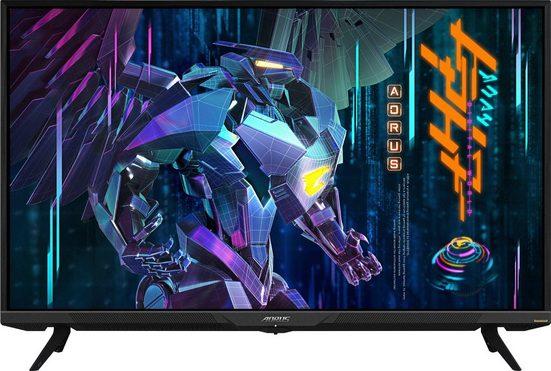 "Gigabyte AORUS FV43U Gaming-Monitor (108 cm/43 "", 3840 x 2160 Pixel, 4K Ultra HD, 1 ms Reaktionszeit, 144 Hz, VA LED)"