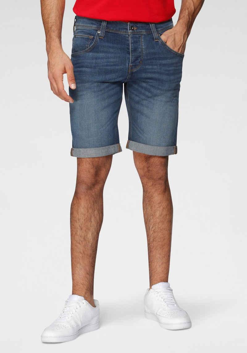 MUSTANG Shorts mit leichten Abriebeffekten
