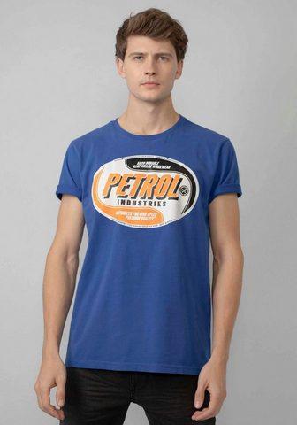 Petrol Industries Marškinėliai stilingas Markenprint