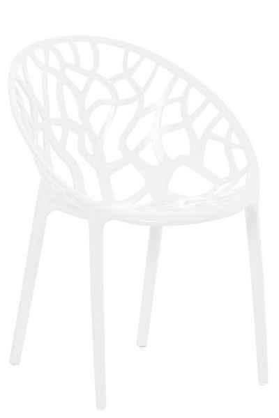 CLP Gartenstuhl »Crystal«, wetterbeständiger Stapelstuhl mit einer Sitzhöhe von 45 cm