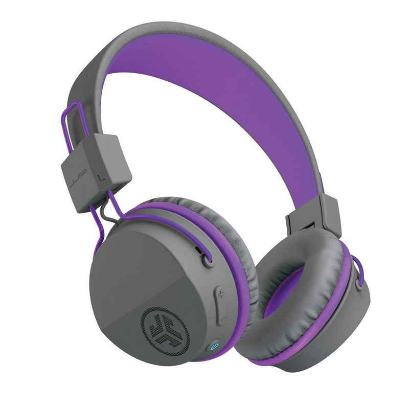 JLab Audio »JBuddies Studio Kids Wireless« Kinder-Kopfhörer (Siri, Google Assistant, Bluetooth, bis zu 24 Stunden Akkulaufzeit, Lautstärkenregelung/-schutz mit maximal 85DB, Share-Modus, integriertes Mikrofon, 40mm-Treiber)