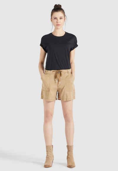 khujo Shorts »NIAMA« (1-tlg) aus weichem Material mit Mid Waist